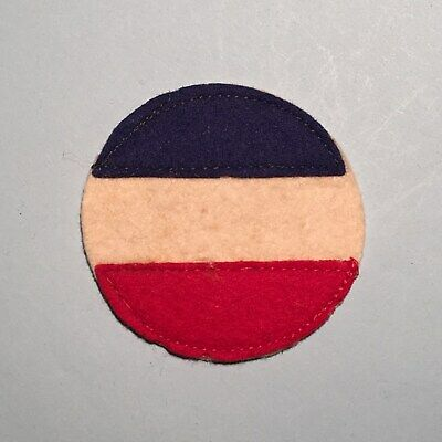 WWII US Army Ground Forces Patch - Multi-piece Felt Variation - Early War Patch