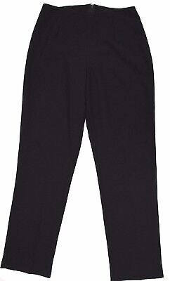 896 I.N.San Francisco Women Size 11 Black Pants Trousers Office Career Made USA