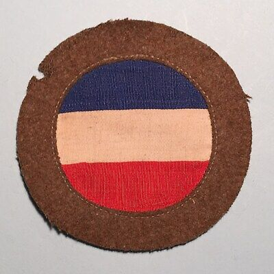 WWII US Army Ground Forces Patch - Multi-piece Variation - Early War Patch