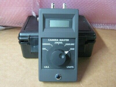 FM Systems CAMERA MASTER CM-1 w/ Hard Case -- FREE SHIPPING!