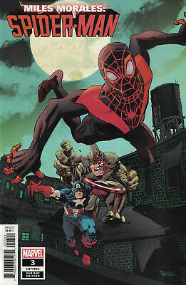 Miles Morales Spider-Man #3 1:50 Variant Nm- (Priority & Free Insurance)