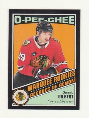 2019-20 O-Pee-Chee Dennis Gilbert Black Border Parallel RC #/100 (19-20)OPC  529