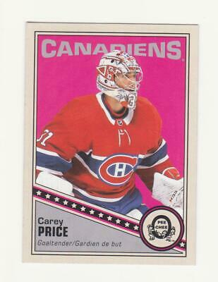 2019-20 O-Pee-Chee Carey Price Retro Parallel Card # 251 (19-20) OPC