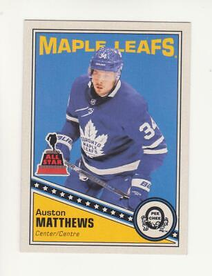 2019-20 O-Pee-Chee Auston Matthews Retro Parallel Card # 463 (19-20) OPC