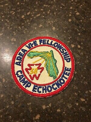 1958 Area VI-E Fellowship Patch Hosted By Camp Echockotee