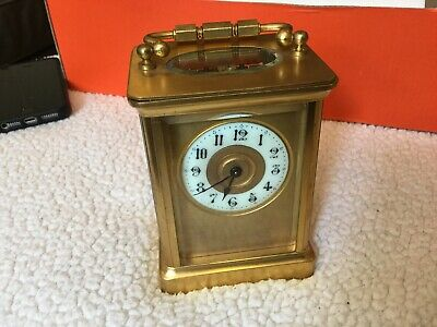Vintage Antique French Carriage Clock in good working order