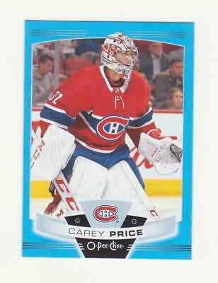 2019-20 O-Pee-Chee Carey Price Blue Parallel Card # 251 (19-20) OPC