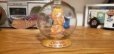 Vic Moran Bubble Bank Vintage Change For The New Baby