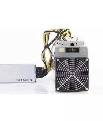 3 Bitmain Antminer L3's+ 504 MH/s Litecoin LTC ASIC Miners  with PSU's