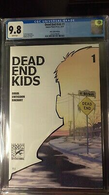 Dead End Kids #1 Cgc 9.8 San Diego Comic Con Variant Source Point Press Sdcc