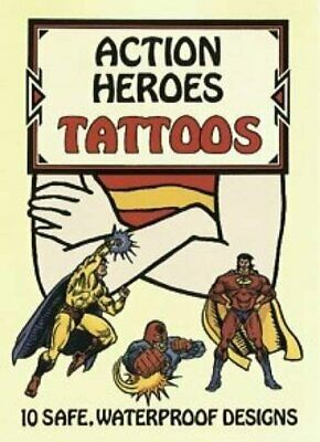 Action Heroes Tattoos (Dover Tattoo... by Petruccio, Steven Ja Other book format