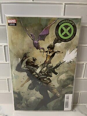 POWERS OF  X #4 Huddleston 1:10 Variant Marvel Comic 1st Print 2019 unread NM