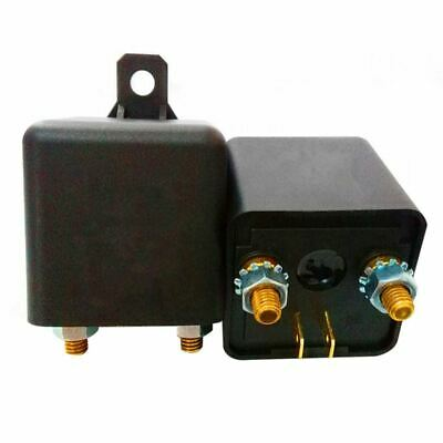 3X(1pc New DC 12V 100A Heavy Duty Split Charge ON/OFF Relay Car Truck Boat M3M8)