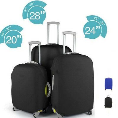 """20""""/24""""/28"""" Elastic Fabric Luggage Protective Cover Travel Suitcase Trolley Case"""