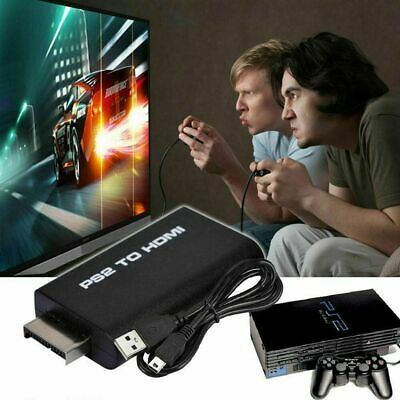 For Sony Playstation 2 PS2 to HDMI Converter Adapter Adaptor Cable HD