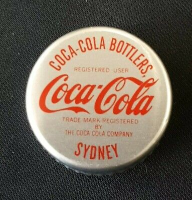 1980,s Coca Cola Screw Cap Sydney Unused Mint. Recap Your Screw Cap Bottle