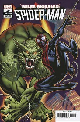 Miles Morales: Spider-Man # 10 by Ed McGuinness  Retailer Variant  1:50 NM+