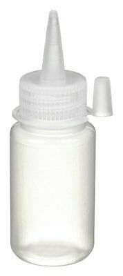 Azlon Narrow Mouth Round Dispensing Bottle, Dispensing, Plastic, 60mL, Clear, 10