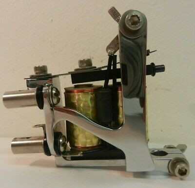 chrome national deluxe tattoo machine shader ***MINT CONDITION***