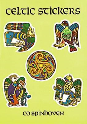 Celtic Stickers: 24 Full-Color Pressure-Sensitive Designs: 24 Full-Colour Pressu
