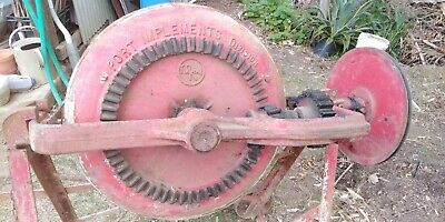 VINTAGE CONCRETE MIXER - McKAY PORT IMPLEMENTS DIVISION - SUIT GARDEN ORNAMENT.