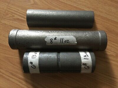 Clock weight Cast Iron inserts one 8 pounder maybe for Morbier