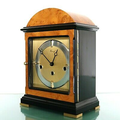 WARMINK HERMLE Mantel Clock HIGH GLOSS! MULTICOULOUR!! Westminster Chime Germany