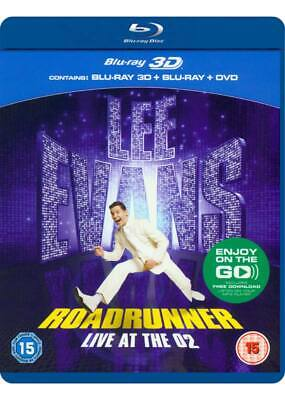 Lee Evans>Roadrunner Live at the O2 2disc blu-ray+3D+DVD5050582876024comedy king