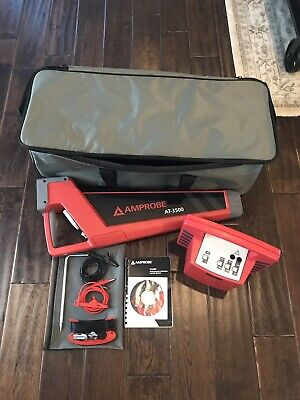 Amprobe AT-3500  Underground Cable and Pipe Locator W/case And Manual