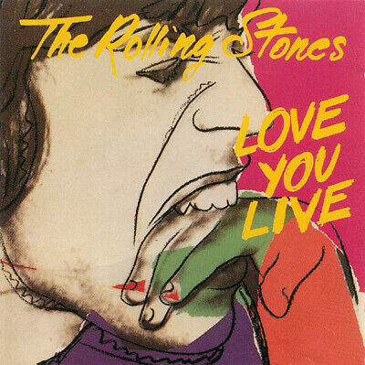 The Rolling Stones - Love You Live [Remastered] (2CD, 1998, Virgin)