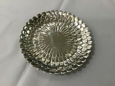 1930's Tiffany & co makers Sterling silver dish 25208 Chrysanthemum Rare Vintage