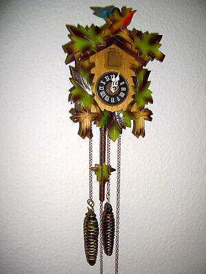 very beautiful little Black Forest cuckoo clock