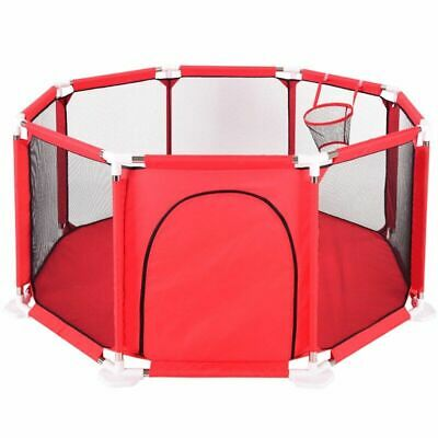 Kids Play Fence Baby Fence Children Outdoor Indoor Ball Pool Game Tent Foldable