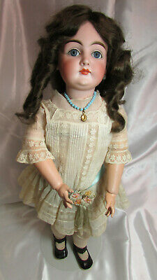 "Antique 24"" Kestner ""K Made in Germany 14"" German Porcelain Doll"