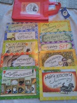 Lynley Dodd Hairy Maclary and Friends Series 10 Books Collection Set like new