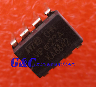 20Pcs DIP-8 St Smps Primary Switcher VIPER12A New Ic yv