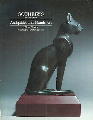 SOTHEBY'S Greek Egypt Roman Islamic Antiquities Glass Jewelry Auction Catalog 90