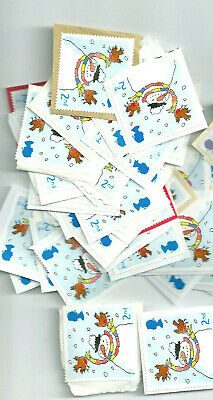 100 GB UNFRANKED 2nd CLASS CHRISTMAS STAMPS ON PAPER FV £61