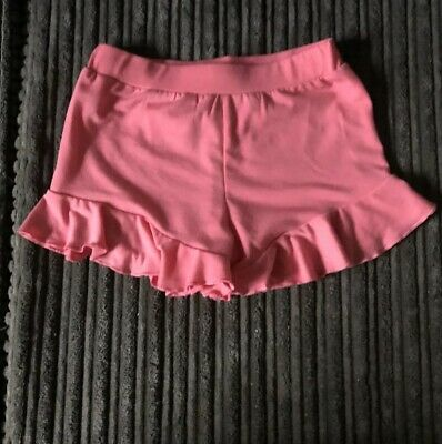 River Island Mini Girls Shorts Pink 9-12 Months Worn Once