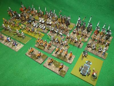 15mm painted Wars of Roses / Late Medieval Army  x113 wargames DBM FoG etc.