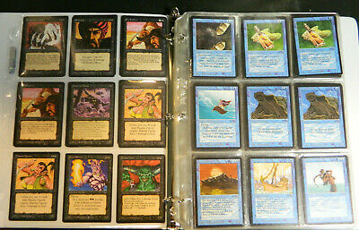 MTG Magic The Gathering Arabian Nights Complete Set All 92 Cards w/ A&B's VG-Ex