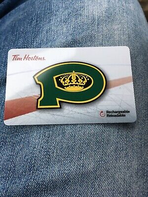 2018 Powell River Kings TIM HORTONS HOCKEY GIFT CARD (1 CARD)