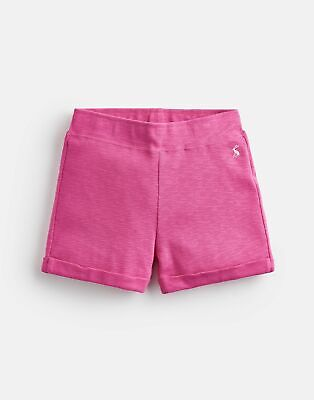 Joules 204622 Jersey Shorts in BRIGHT PINK Size 9yrin10yr