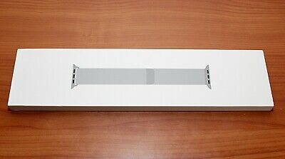NEW Genuine Apple WatchMilanese Stainless Steel SILVER LOOP BAND 44mm MTU62AM/A