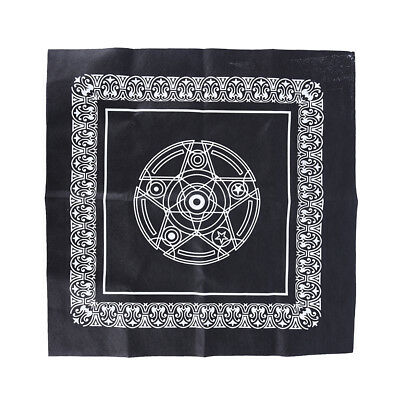 49*49cm pentacle tarot game tablecloth board game textiles table cover*BRHKBIC^