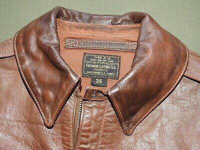 "US Army AAF WW2 ""CATCH-22"" SERIES PROP EASTMAN A-2 HORSEHIDE FLIGHT JACKET Coat"