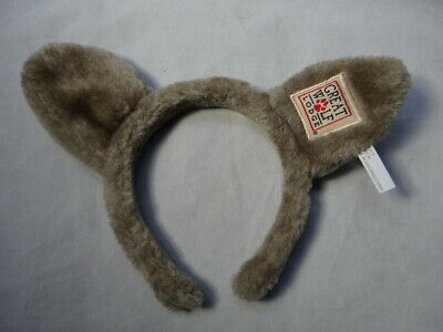 GREAT WOLF LODGE Kids Wolf Ears Headband Souvenir Gift - Plush Pre-owned Unworn