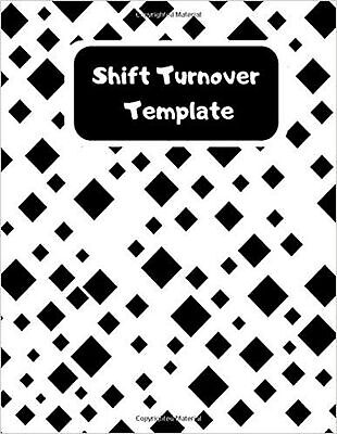 Shift Turnover Template: Daily Staff Management Logbook Template Sheets Organ...
