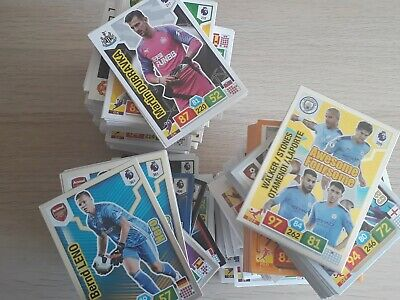 Panini Adrenalyn Premier League 19/20 job lot 50-200 card bundles ALL DIFFERENT