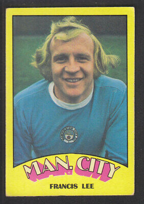 A&BC - Footballers (Red Back) 1974 - # 131 Francis Lee - Manchester City